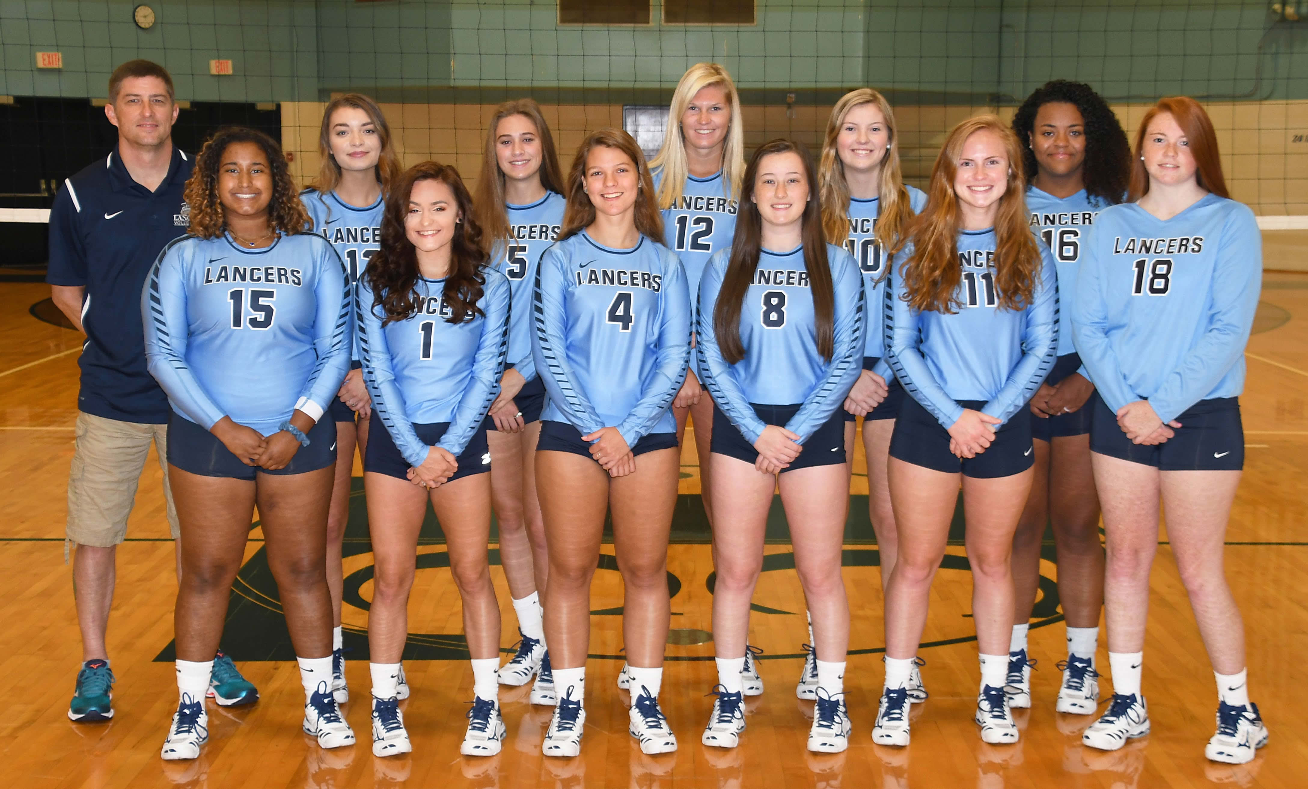 2018 Lancers Volleyball Team
