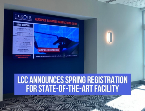 LCC Announces Spring Registration for State-of-the-Art-Facility