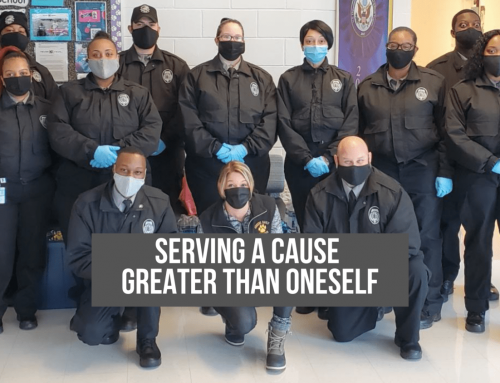 Serving a cause greater than oneself