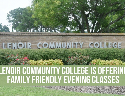 Lenoir Community College is offering family friendly evening classes