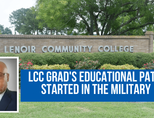 LCC grad's educational path started in the military